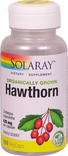 Solaray  Organically Grown Hawthorn Perspective: front
