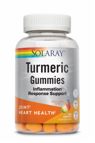 Solaray Turmeric Gummies Perspective: front