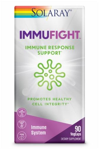 Solaray ImmuFight Immune Response Support VegCaps Perspective: front