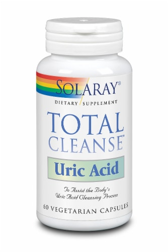 Solaray Total Cleanse Uric Acid Perspective: front