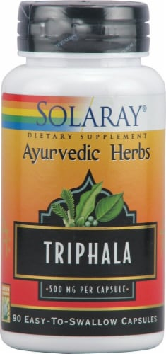 Solaray Triphala Capsules 500 mg Perspective: front