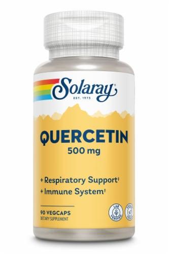 Solaray Quercetin VegCaps 500 mg Perspective: front