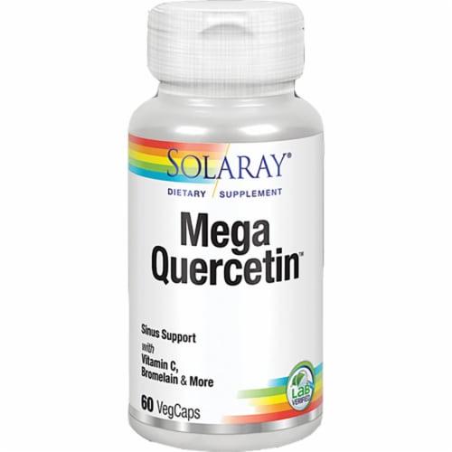 Solaray Mega Quercetin Capsules 1200mg Perspective: front