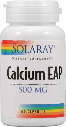 Solaray  Calcium EAP Perspective: front