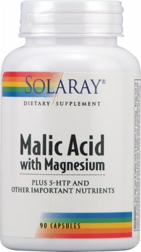 Solaray  Malic Acid with Magnesium Perspective: front