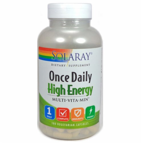Solaray  Once Daily High Energy Multi-Vita-Min™ Perspective: front
