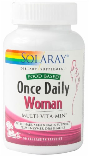 Solaray  Once Daily Women Multi-Vita-Min™ Perspective: front