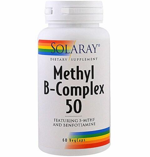 Solaray  Methyl B-Complex 50 Perspective: front