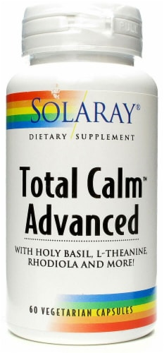 Solaray  Total Calm™ Advanced Perspective: front