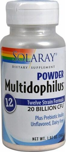 Solaray  Multidophilus 12 Powder Perspective: front