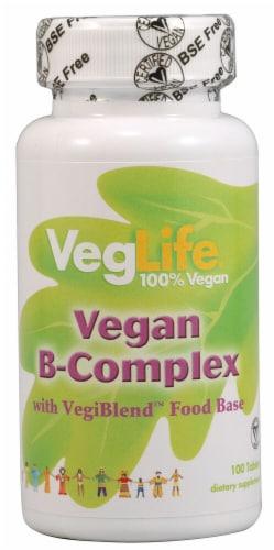 VegLife  Vegan B-Complex Perspective: front