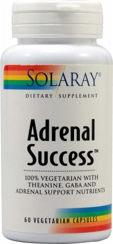 Solaray  Adrenal Success™ Perspective: front