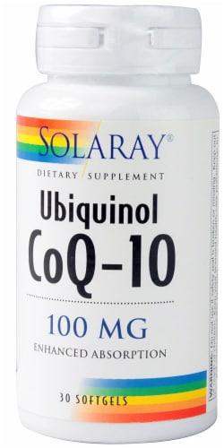Solaray  Ubiquinol CoQ-10 Perspective: front