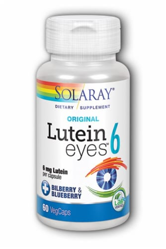 Solaray  Lutein Eyes™ 6 Original Perspective: front