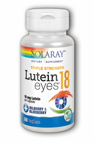 Solaray  Lutein Eyes™ Triple Strength Perspective: front