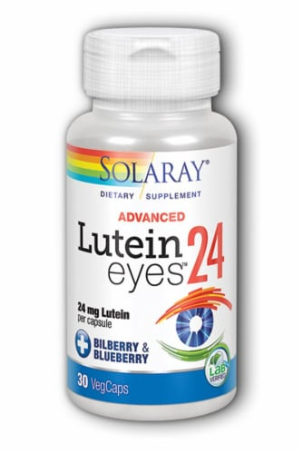 Solaray  Lutein Eyes™ Advanced Perspective: front