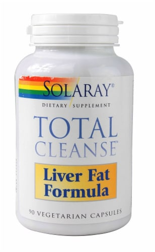 Solaray  TotalCleanse™ Liver Fat Formula Perspective: front