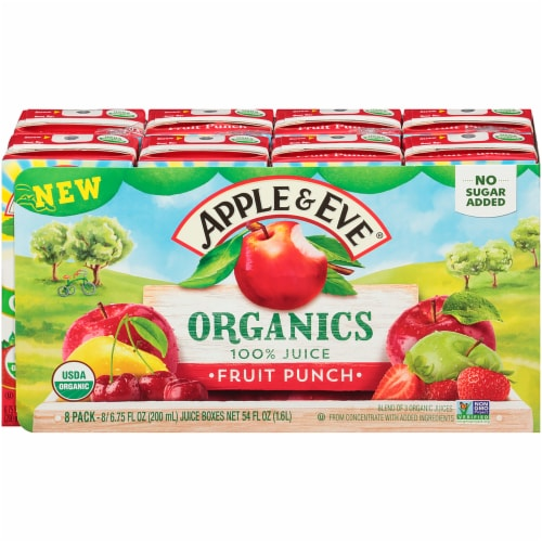 Apple & Eve® Organics Fruit Punch Perspective: front