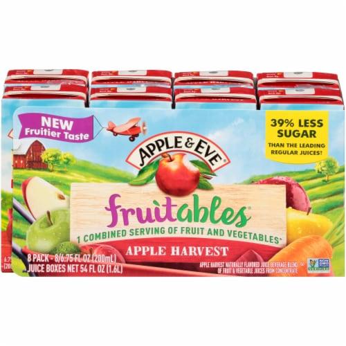 Apple & Eve Fruitables Apple Harvest Juice Boxes Perspective: front