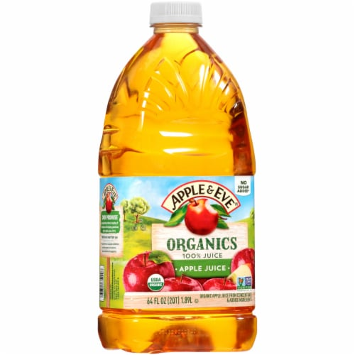 Apple & Eve Organics Apple Juice Perspective: front