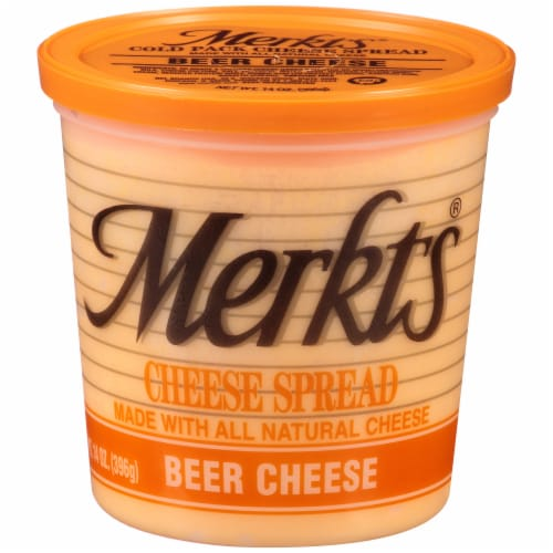 Merkts Beer Cheese Cheese Spread Perspective: front