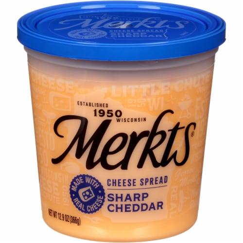 Merkts Sharp Cheddar Cheese Spread Perspective: front