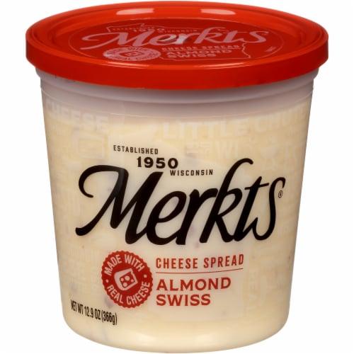 Merkts Almond Swiss Cheese Spread Perspective: front