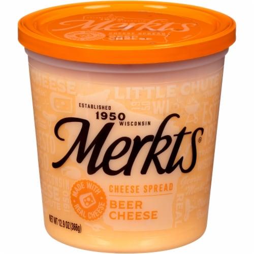 Merkts Beer Cheese Spread Perspective: front