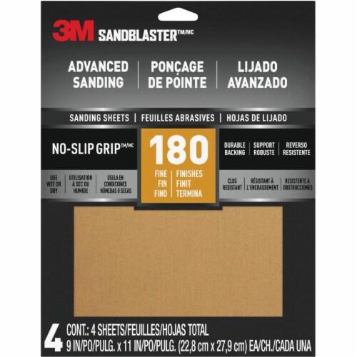 3M 180g Reg Classic Sanding 20180-G-4 Perspective: front
