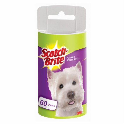Scothc-Brite Pet Hair Roller Refill Perspective: front