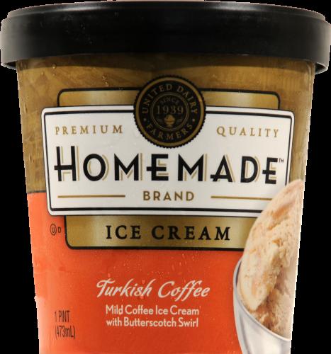 Kroger United Dairy Farmers Homemade Turkish Coffee Ice Cream
