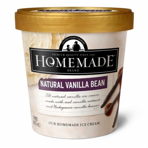 Homemade Brand Natural Vanilla Bean Ice Cream