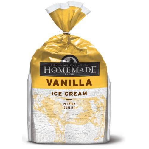 Homemade Brand Vanilla Ice Cream Cups Perspective: front