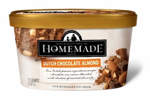 Marianos United Dairy Farmers Homemade Dutch Almond Chocolate Ice