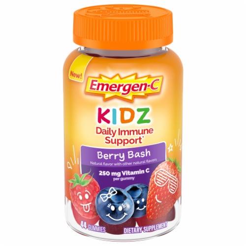 Emergen-C Kidz Berry Bash Daily Immune Support Gummies Perspective: front