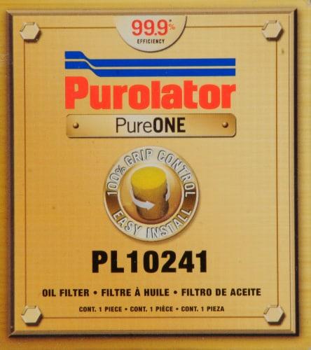 Purolator PureOne PL10241 Oil Filter Perspective: front