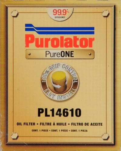 Purolator PureOne PL14610 Oil Filter Perspective: front