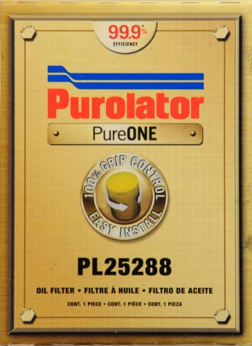 Purolator PureOne PL25288 Oil Filter Perspective: front