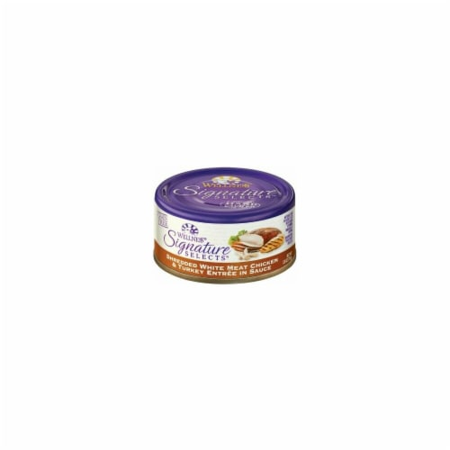 Wellness 43205008 2.8 oz Core Cat Signature Select Shred Chicken Turkey - Case of 12 Perspective: front