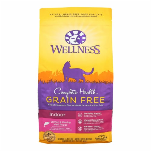 Wellness Pet Products - Cmplt Hlth Meal Salm/hrng - Case of 4 - 5.5 LB Perspective: front