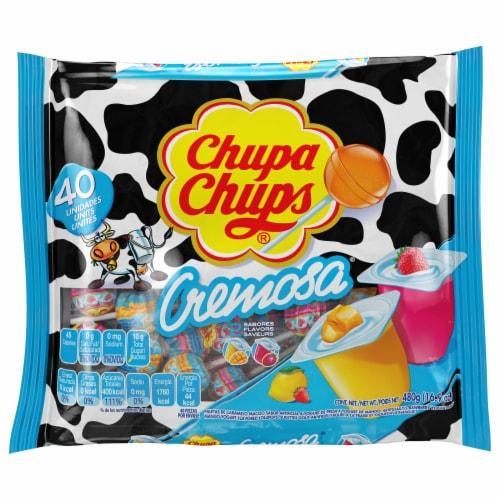 Chupa Chups Cremosa 40 Count Perspective: front