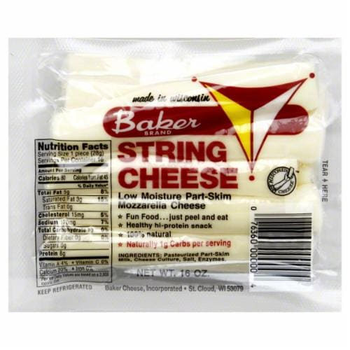 Baker String Cheese Perspective: front