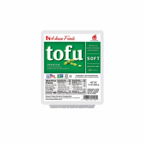 House Foods Hinoichi Soft Tofu Perspective: front