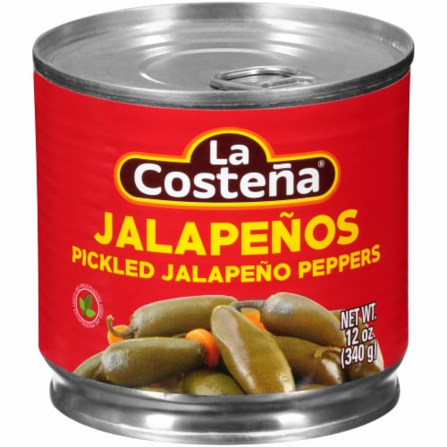 La Costena Pickled Jalapeno Peppers Perspective: front