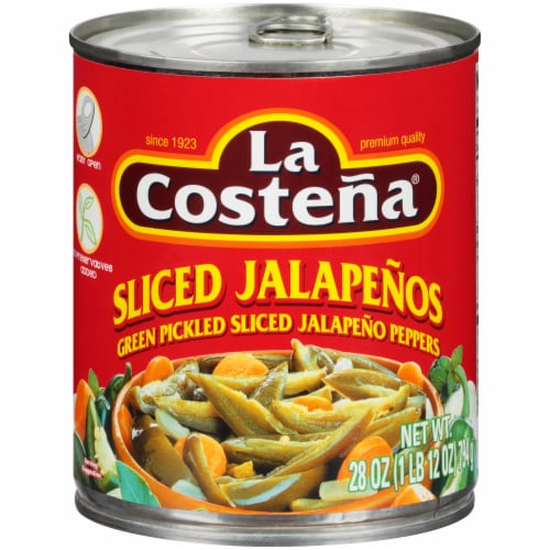 La Costena Sliced Jalapeno Peppers Perspective: front