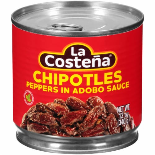 La Costena Chipotle Peppers in Adobo Sauce Perspective: front
