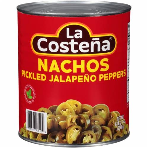 La Costena Sliced Jalapeno Nacho Slices Perspective: front