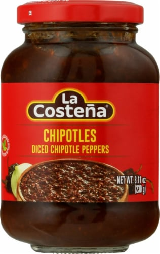 La Costena Diced Chipotle Peppers Perspective: front