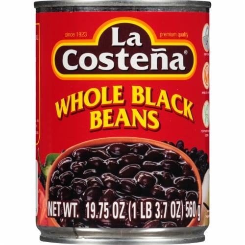 La Costena Whole Black Beans Perspective: front