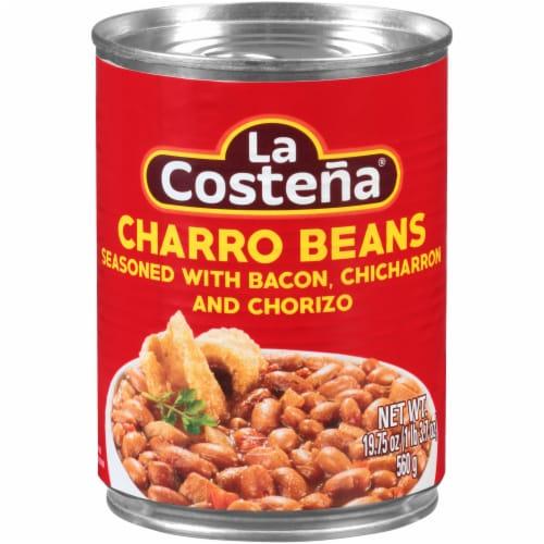 La Costena Charro Beans Perspective: front